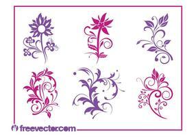 Flowers Graphics Set