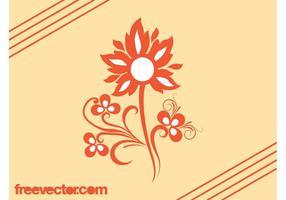 Flower Vector Design