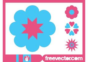 Blossoms-icons-graphics-vector
