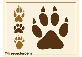 Animal Paw Prints Graphics