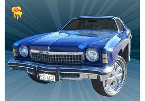 Free-classic-car-vector
