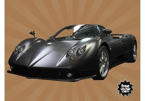 Sports-car-vector