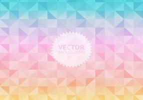 Pastel Geometric Background Vector