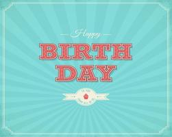 Retro-happy-birthday-typographical-background-vector