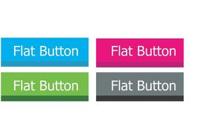 Flat Button Vectors