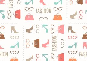 Naadloze Fashion Vector Patroon