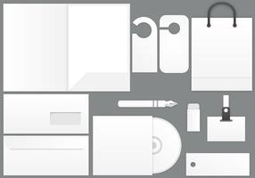 Blank-stationary-template-vector