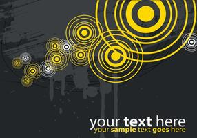 Modern-yellow-and-gray-target-vector-background