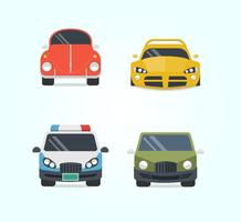 Various Cars Vector Set
