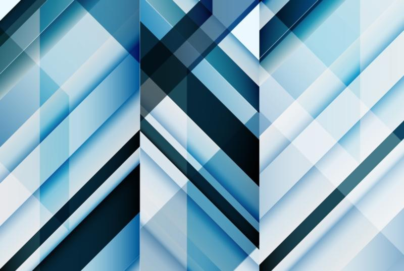 blue outline abstract pattern - download free vector art, stock
