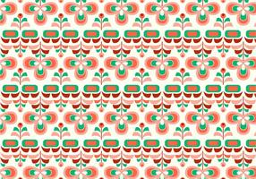 Retro 70s Vector Pattern