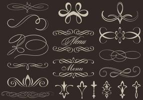 Calligraphic-ornament-vectors
