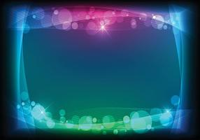 Bokeh Light Background Vector