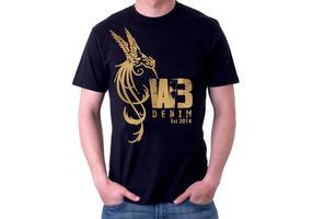 Rock Bird Tshirt Vector Design