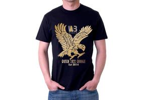 Rock Eagle Tshirt Vector Design