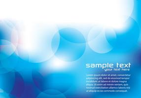 Blue Abstract Circle Background Two Vector