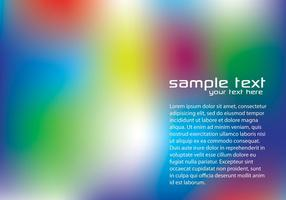Blurry Rainbow Background Vector