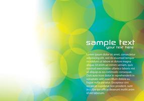 Vert flou bokeh background vector