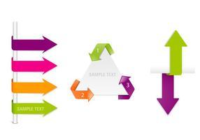 Navigation-arrow-labels-vector-set