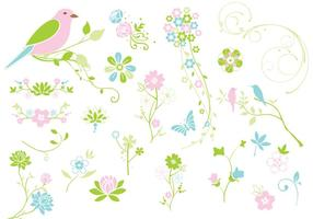 Spring-flourishes-flowers-vector-pack