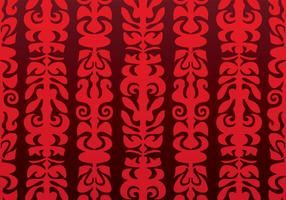 Native Red Vector Hintergrund