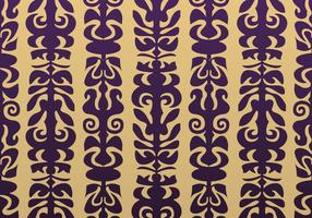 Purple and Gold Native Vector Background