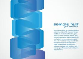 Funky Blue Background Vector