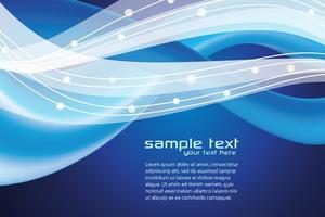 Blaue moderne abstrakte Hintergrund Vektor