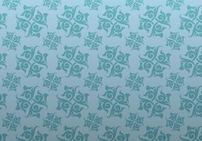 Blue Ornamental Vector Patterned Background