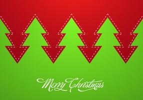 Abstract-christmas-tree-vector-background