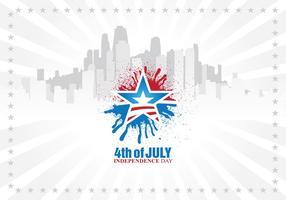 Vecteur de la Journée de l'Indépendance urbaine