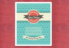 Retro-christmas-card-vector