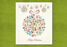 Retro-hanging-christmas-ornament-vector-background