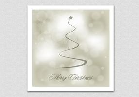 Bokeh-merry-christmas-vector-background