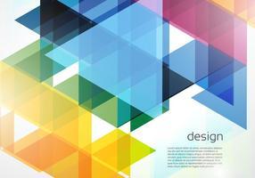 Zusammenfassung Geometrische Vektor Hintergrund