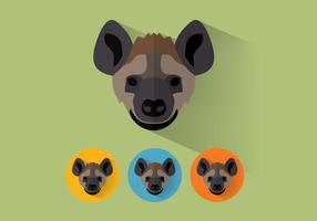 Vector de hiena
