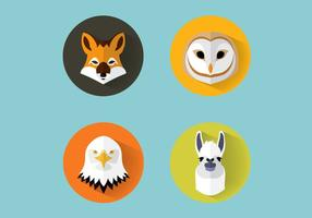 Animales Vector Set