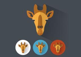 Vettore di giraffa