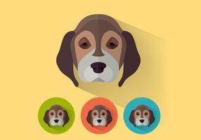 Vector de beagle