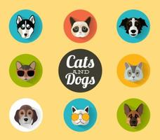 Cats-and-dogs-portraits-vector