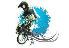 EE.UU. Rockford Estrellas BMX Vector