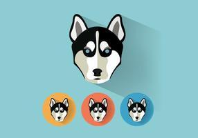 Wolf-portraits-vector