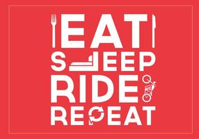 Eat-sleep-ride-repeat-vector-background