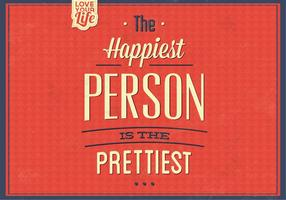 The-happiest-person-vector-background