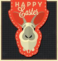 Happy-easter-bunny-vector-background