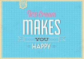 Ice-cream-makes-you-happy-vector-background