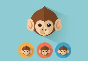Monkey-vector-portraits