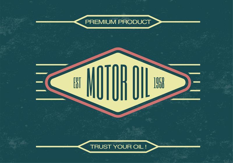 Vintage-motor-oil-vector-background