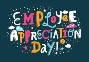 National Employee Appreciation Day Vector Illustration