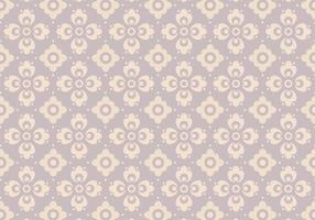 Lavendel blommig vektor mönster